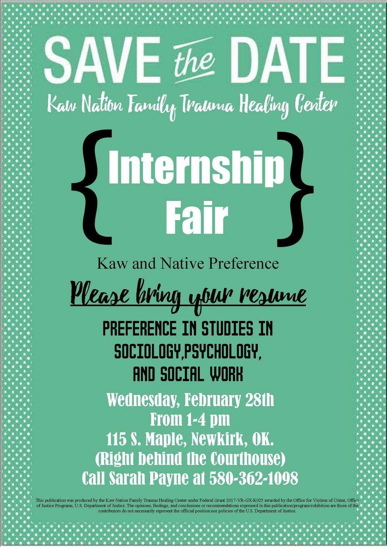 Kaw Nation Internship Fair.jpg