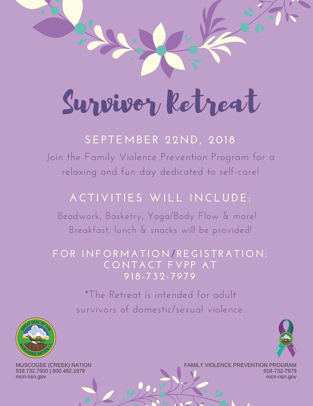 MCNFVPP Survivor Retreat