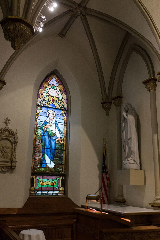 st. peter's catholic church, harper's ferry, wv