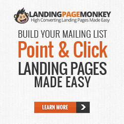 Landing Page Monkey - If you are in business online, a landing page is essential for your online success. If you doing have a website and can't afford to invest in one, a landing page is an excellent tool to get started. If you are marketing multiple products and resources, a landing page can get your clients to your site quicker and easier without them having to search for your product.