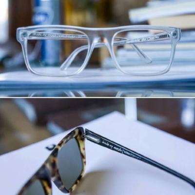 Handcrafted eyewear Vancouver bespoke
