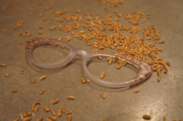 Bespoke eyeglasses wheat eyeglasses
