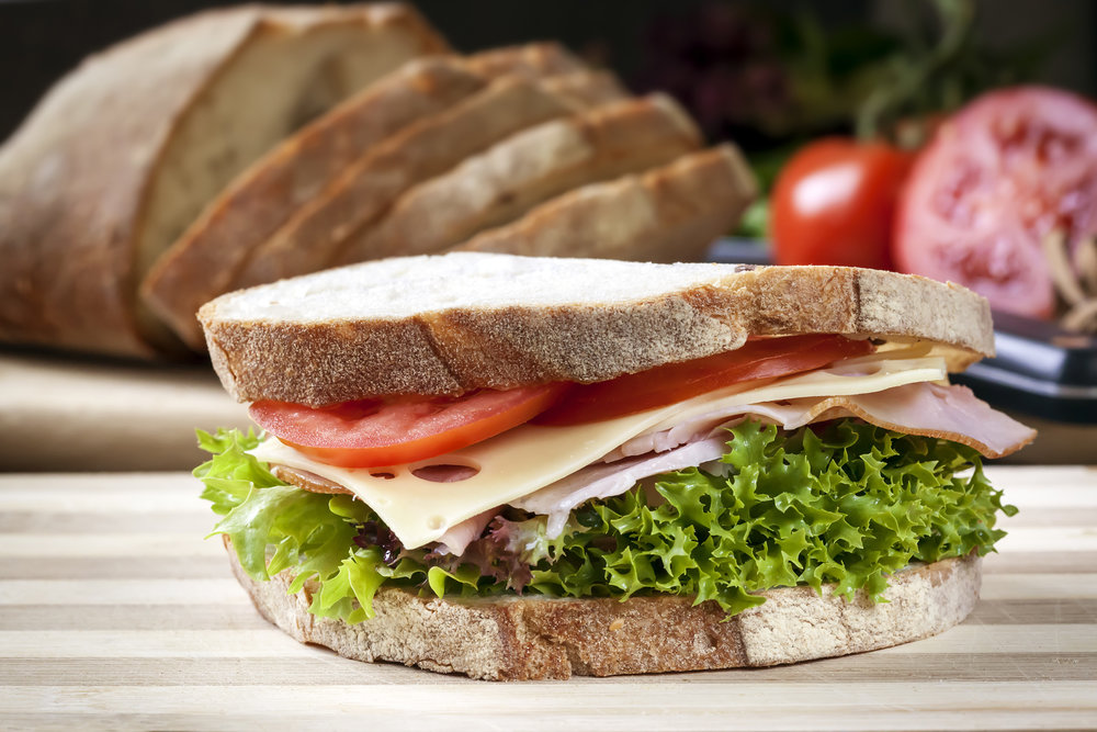 CLASSIC HAM SANDWICH. IMAGE CREDIT: ADOBE STOCK PHOTOS.