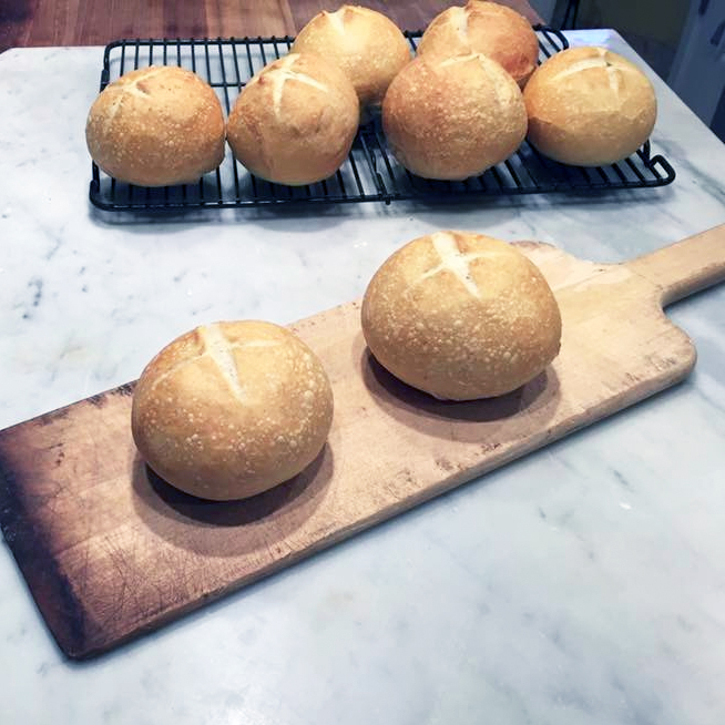 A DOZEN SOURDOUGH FRENCH BREAD SMALL BOULES