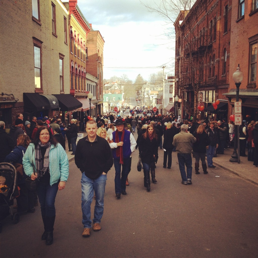 Caroline Street during last year's Chowderfest