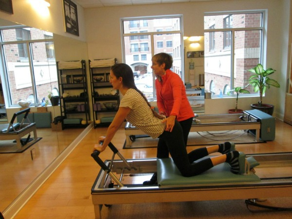 on the Reformer with Cindy
