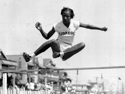 High jumper Alice Coachman, first female African American athlete to win an Olympic gold medal, has been inducted into eight halls of fame.