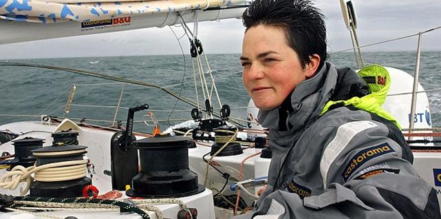 Ellen MacArthur, Sailor who completed solo circumnavigation race, the Vendée Globe, then broke the non-stop solo world record