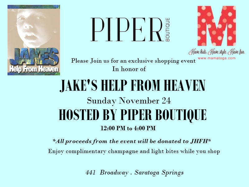 JAKE'S HELP FROM HEAVEN_TOGA