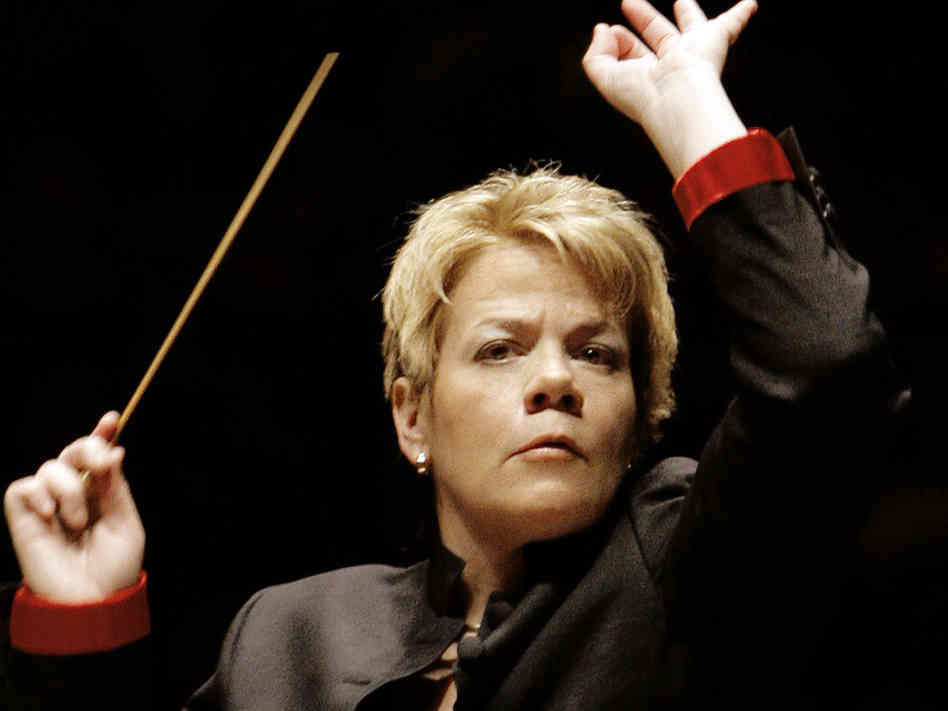 One of the few female conductors, Marin was the first woman to wield the baton at a major US orchestra when she became music director of the Baltimore Symphony Orchestra in 2007
