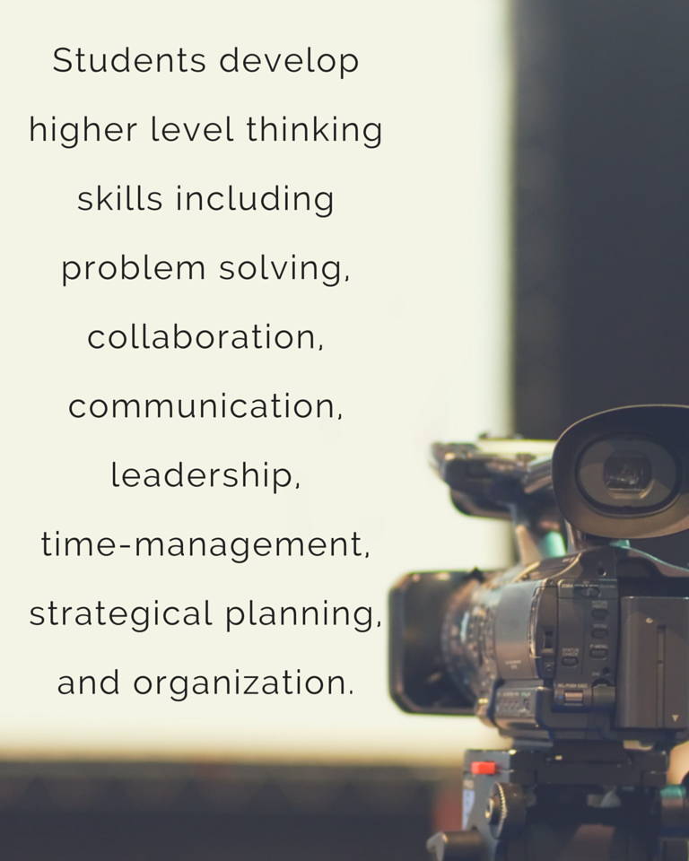 This new program design provides students with more in depth knowledge, more hands-on technical training, and most importantly, more time to cultivate and develop higher quality projects.d heading