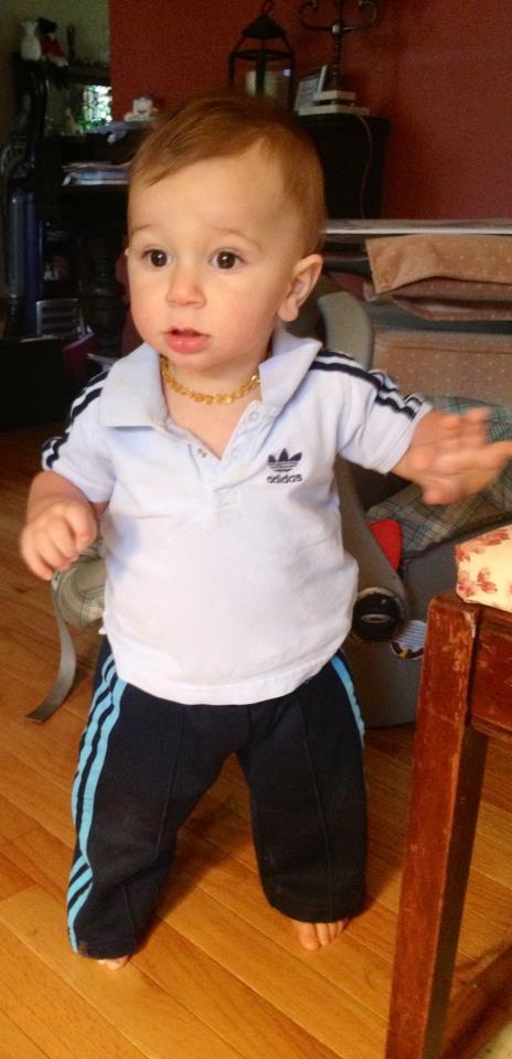 Jack rocking some Witte vintage Adidas