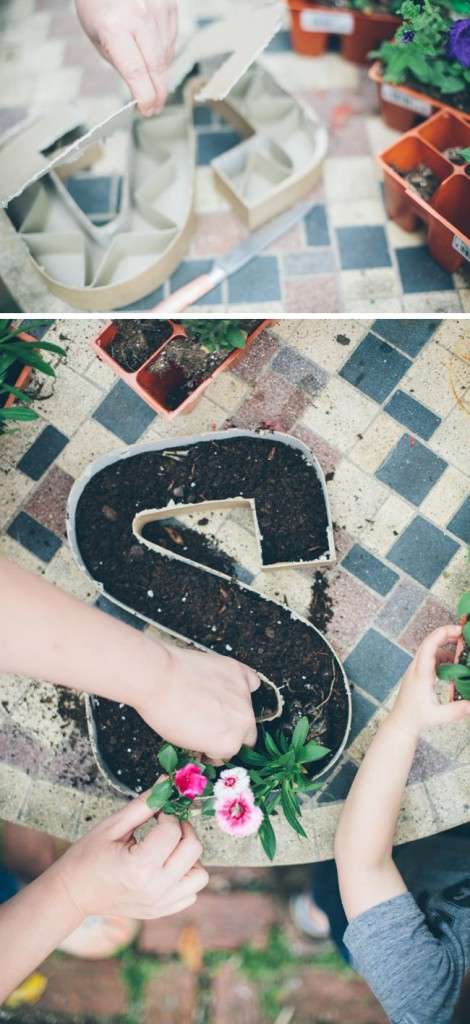 how-to-make-letter-planters