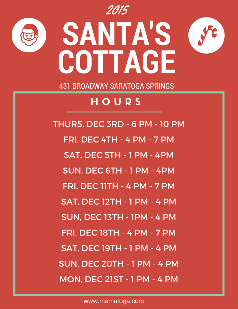 SantasCottageHours