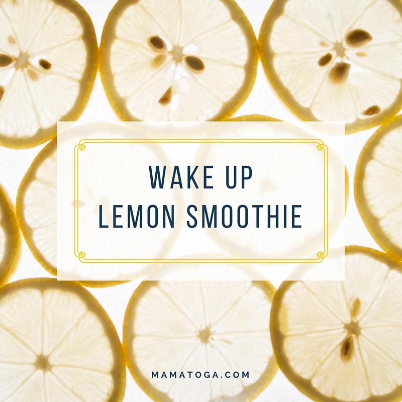WAKE uplemon smoothie