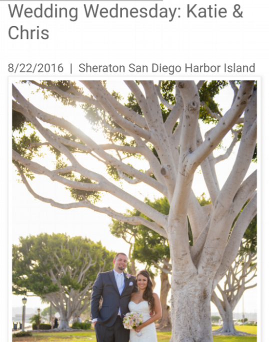 San Diego Style Weddings  (Katie + Chris)