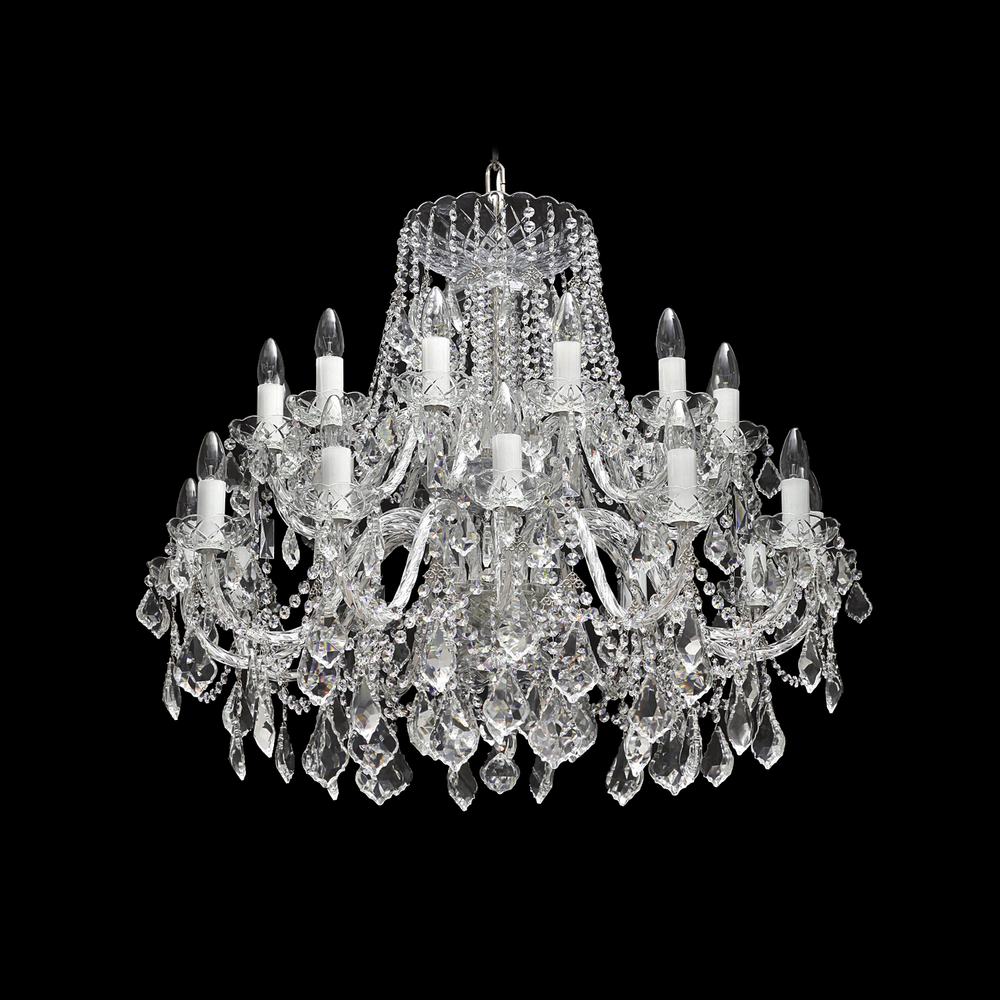 Czech Crystal Chandelier - KVK 60/24