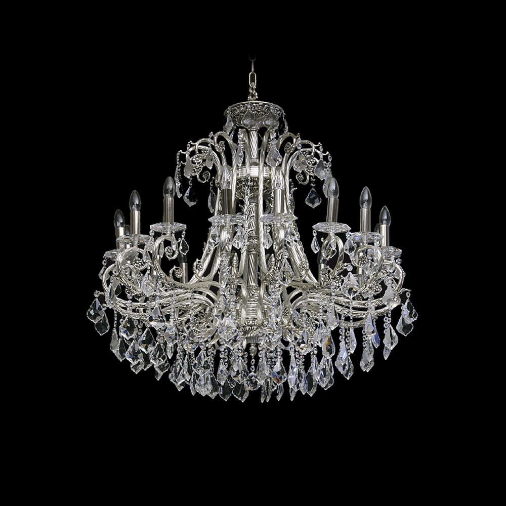 Czech Brass Chandelier - MAD 1001