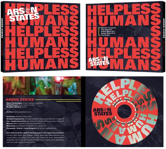 CD Packaging: Front, Back, Inside, Disc