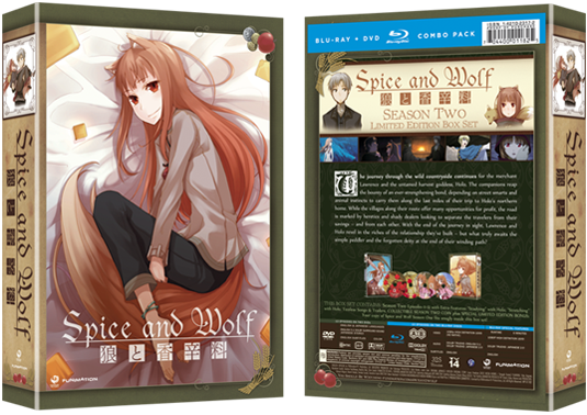 Season Two BD/DVD Box Set: Front, Back, Onsert Sheet