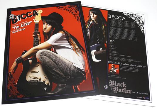 BECCA Signature Card: Front & Back