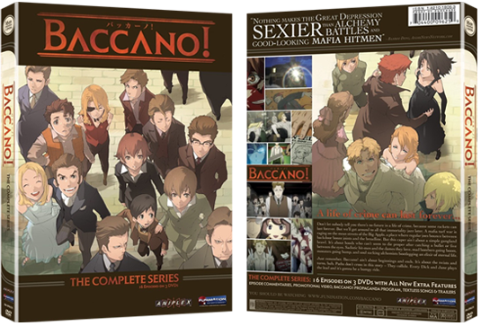 Complete Series DVD Cover: Front & Back