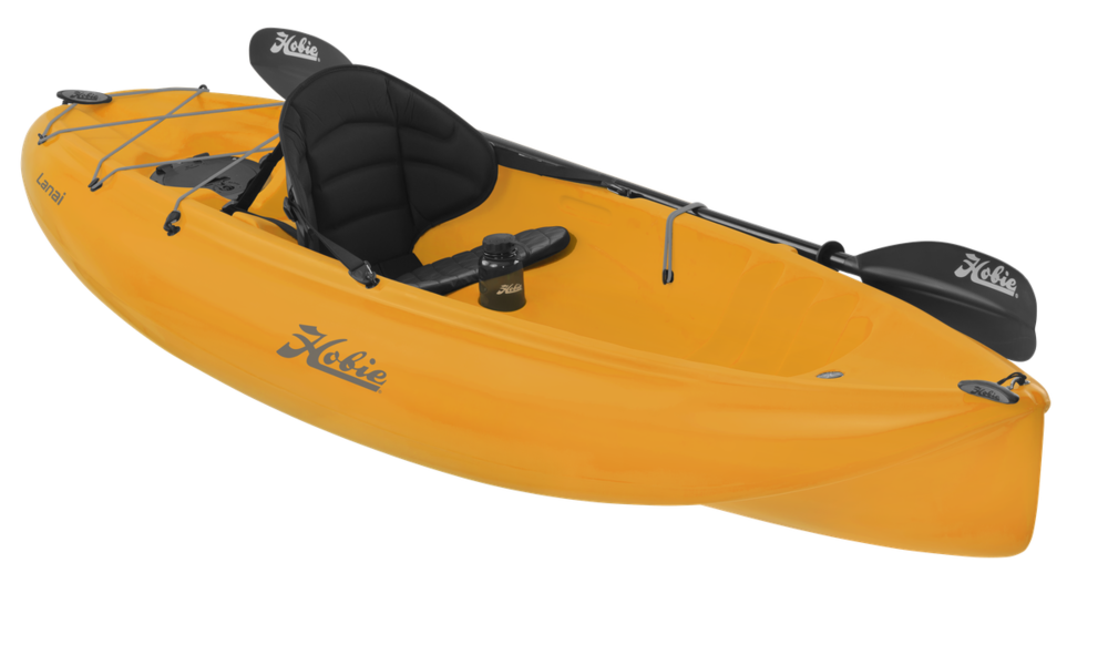 Lanai   The Hobie Lanai glides smoothly and efficiently, despite its compact size.