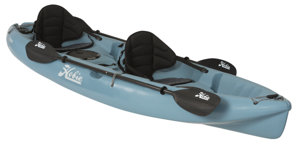 Kona   The Hobie Kona is a classic crossover paddle kayak.