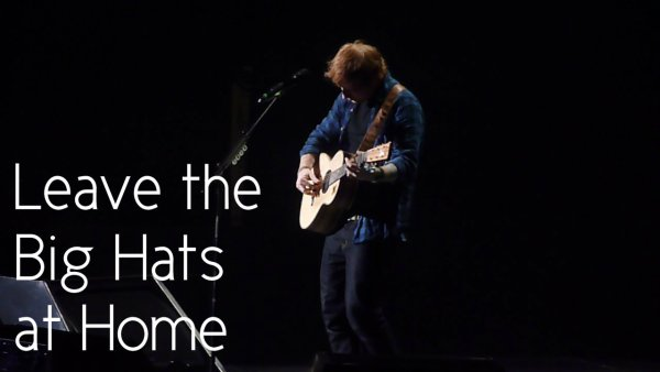 Ed Sheeran at the Air Canada Centre – Sept. 18, 2014