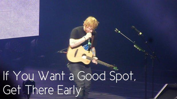 Ed Sheeran at the Air Canada Centre – June 6, 2015