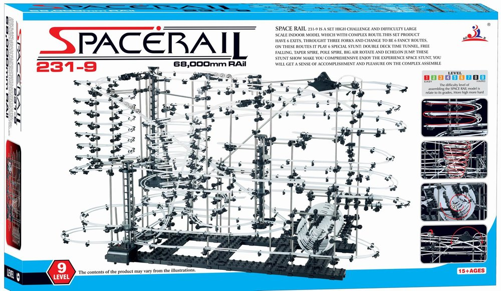Spacerails Level 9 - www.spacerails.com/spacerails-set/SC231-9