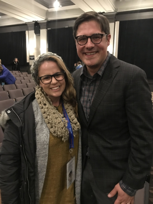 Rich Sommer who plays Wayne Mackey
