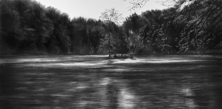 For Tervuren 2014 Charcoal on a panel 100cm×200cm.jpg
