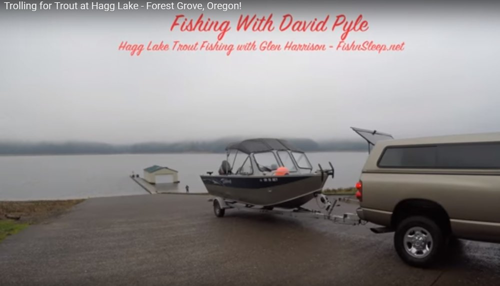 Video - Trolling for Trout at Hagg Lake - Forest Grove