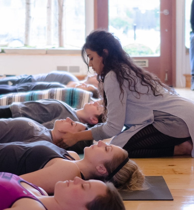 Alina Qureshi, Instructor   Tuesday - Slow flow with Meditation 7PM
