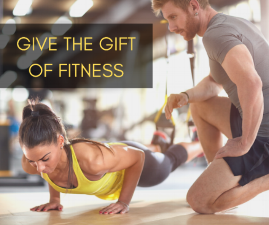Up your gift giving game this Holiday. - Contact us today for custom Personal training packages and special pricing!