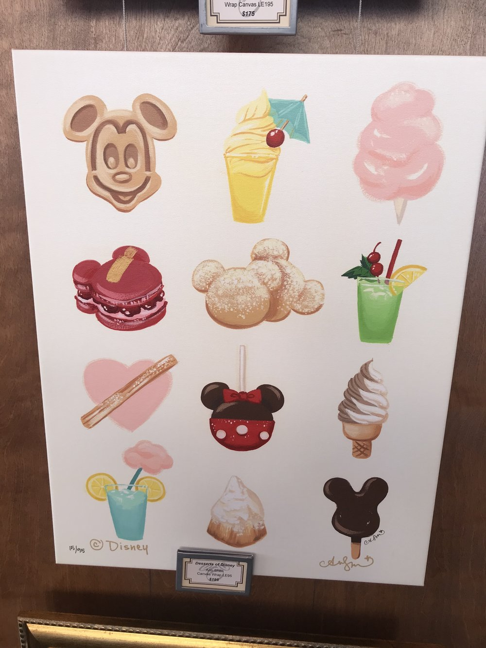 Some Limited Edition art in the artists corner, which is your favorite?  It is so hard to choose!  But DOLE WHIP;)