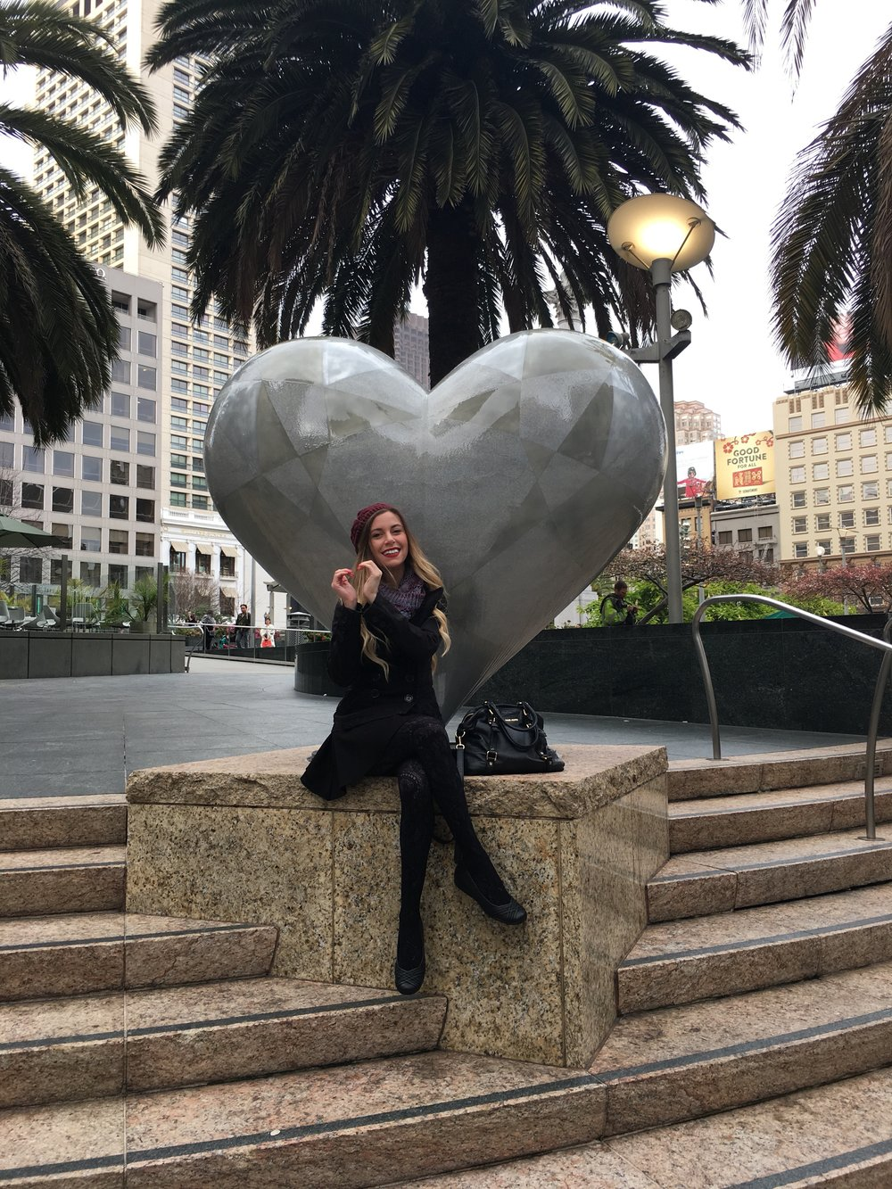 Union Square is the heart and hub of the city. It has luxurious shopping and the finest hotels. Stay and dine here but the best parts of San Francisco are a bit further out.
