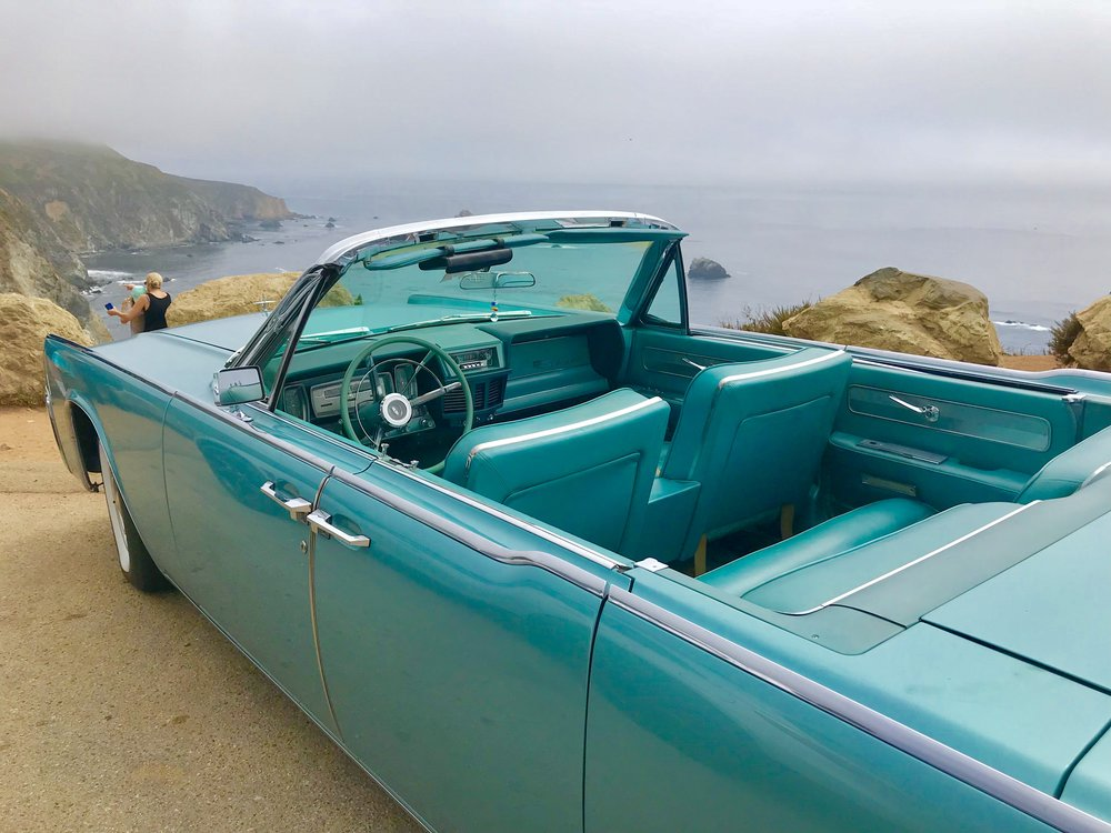 This classic 'Hot Rod'begs for the open road views of Big Sur.