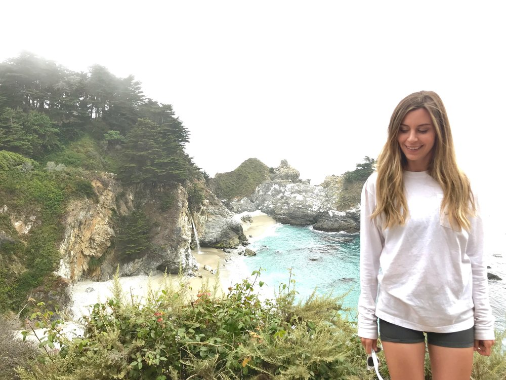 """Big Sur...In """"America The Beautiful"""" when they sing 'sea to shining sea' this is what they mean."""