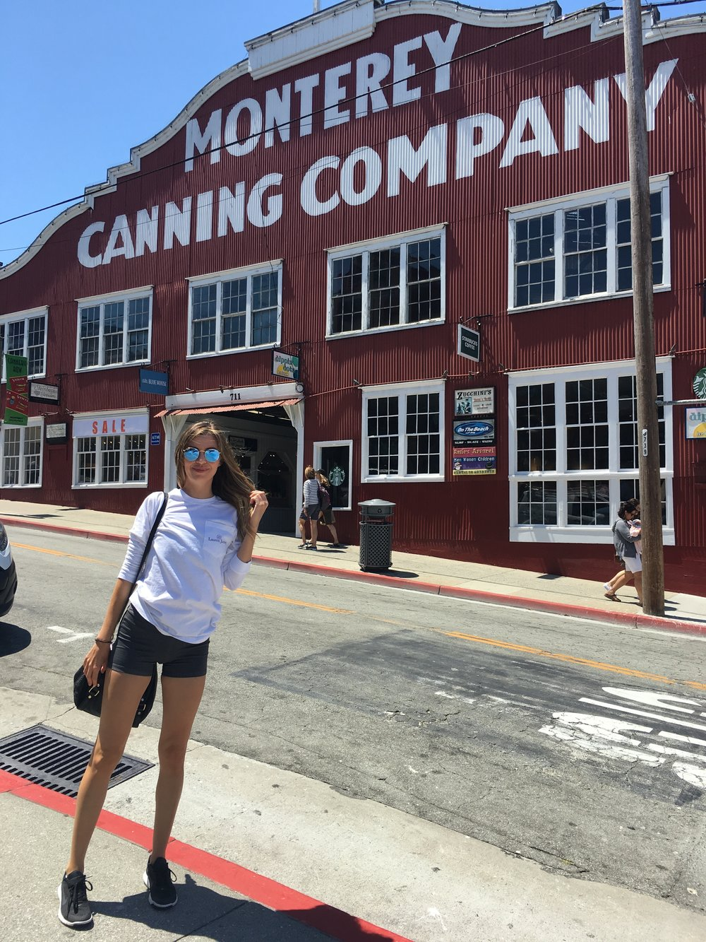 The Famous Monterey Cannery Row! So much dining and wine tasting along this beloved stretch.