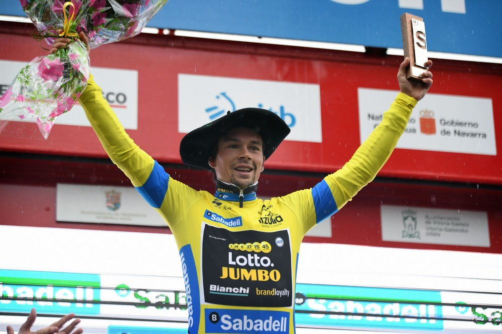 Primoz Roglic wins the overall in Pais Vasco 2018 (by corvospro)