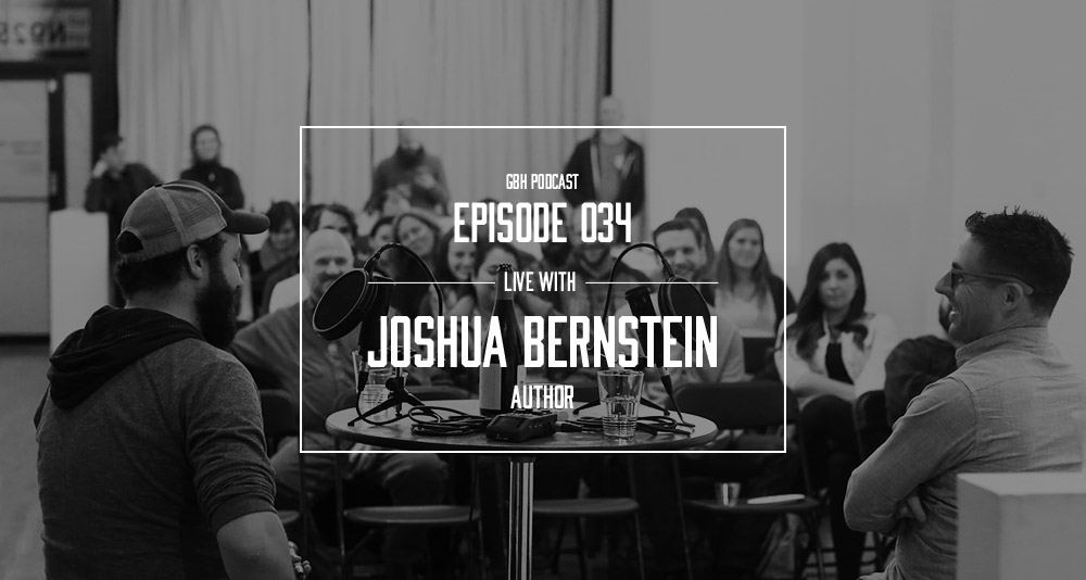 Good Beer Hunting podcast  Episode 34 — Joshua Bernstein — Live Recording
