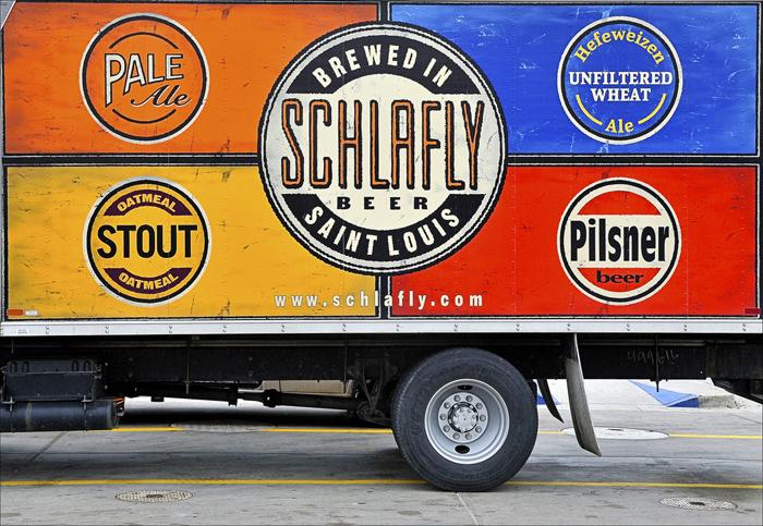 Schlafly-beer-truck