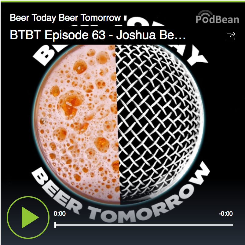 Beer Today Beer Tomorrow podcast with Joshua M. Bernstein