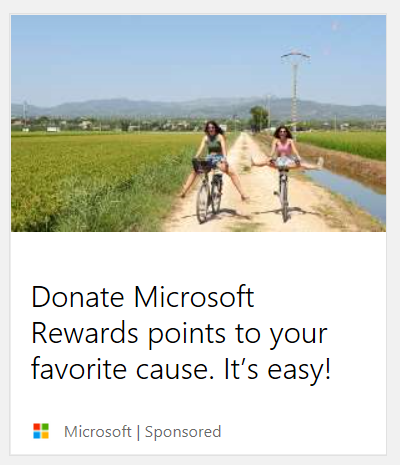Copyediting and Writing: Microsoft Rewards Edge Campaign