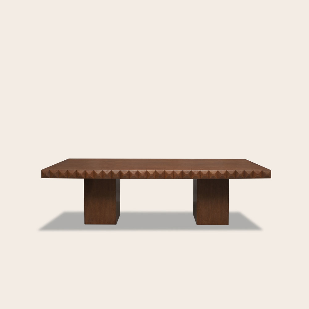 Maximino Dining Table with Pedestal Base