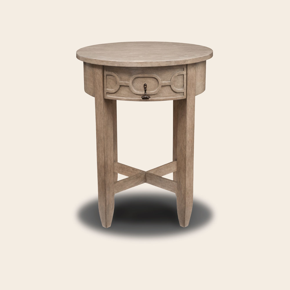 Renato Side Table White Oak CM