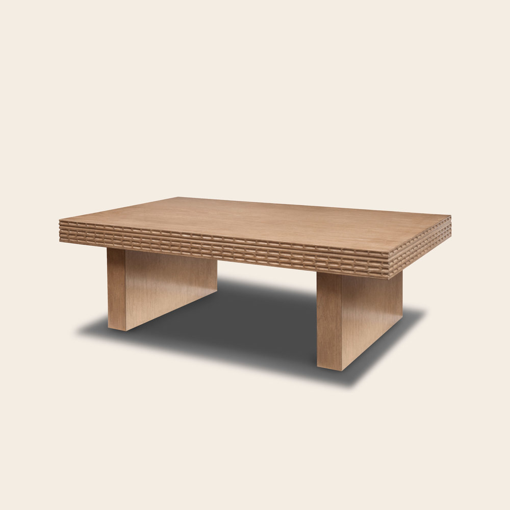 Patricio Coffee Table White Oak