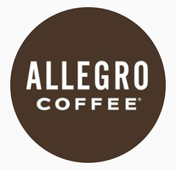 Allegro Coffee    You can buy Allegro Coffee at any local Whole Foods store. Allegro has bought our coffee for some of their blends.